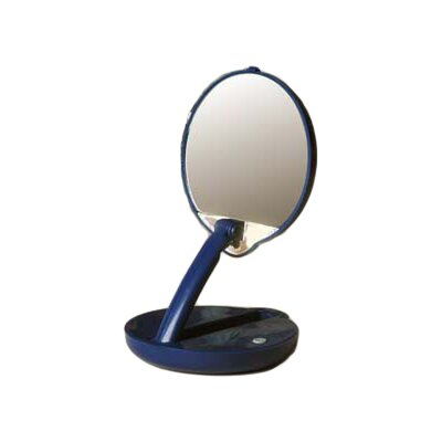 Floxite 15x Lighted Adjustable Compact Mirror