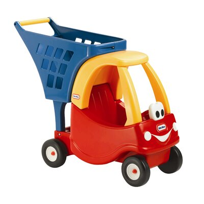 Cozy Coupe Shopping Cart Ride-On II by Little Tikes