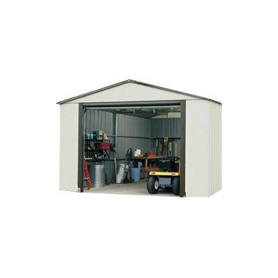Murryhill 12 Ft. W x 17 Ft. D Vinyl Coated Steel Storage Shed by Arrow ...