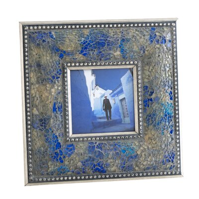 Fes Crushed Mosaic Picture Frame II by Shiraleah