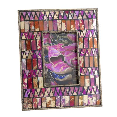 Midar Mosaic Picture Frame by Shiraleah