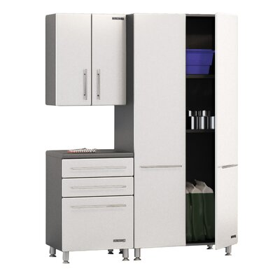 Storage 7' H x 5' W x 2' D 3 Piece Starter Storage System by ...