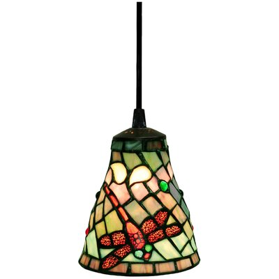 Warehouse of Tiffany Dragonfly 1 Light Hanging Pendant