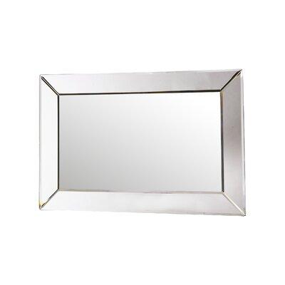 Contemporary Angela Rectangle Wall Mirror by Howard Elliott