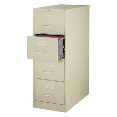 CommClad 4 Drawer Commercial Legal Size File Cabinet
