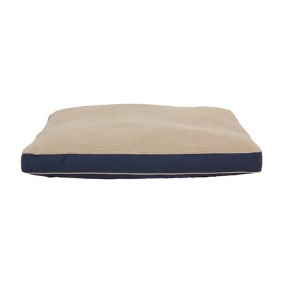 Four Season Dog Pillow with Cashmere Berber Top by Zoey Tails