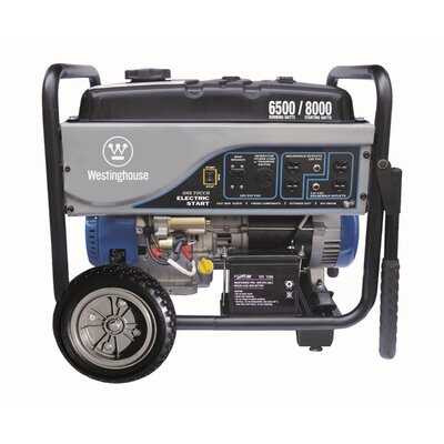 6,500 Watt Generator with Electric Start by Westinghouse Power Products