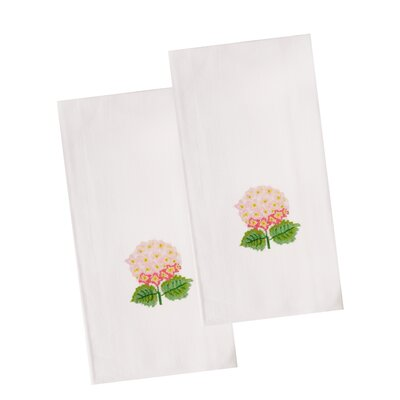 The Designs of Distinction Hydrangea Dish Towel