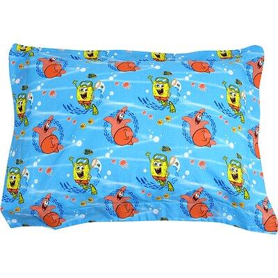 Franco Manufacturing Nickelodeon SpongeBob SquarePants Sea Adventure Pillow Sham