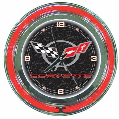 "Trademark Global 14"" Corvette C5 Wall Clock"