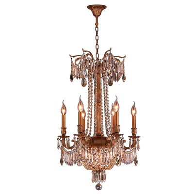 Winchester 9 Light Crystal Chandelier by Worldwide Lighting