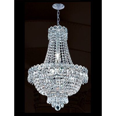 Empire 8 Light Chandelier Product Photo