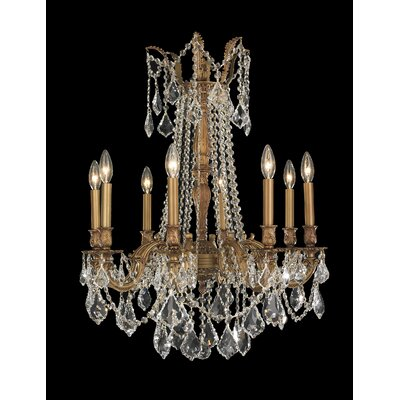 Windsor 8 Light  Crystal Chandelier Product Photo