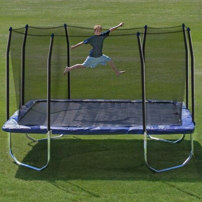 14' Square Trampoline and Enclosure Product Photo