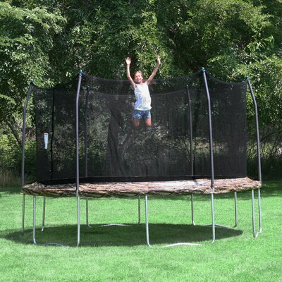 Camo 12' Trampoline and Enclosure Product Photo