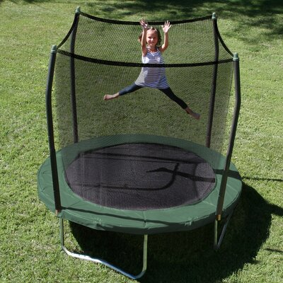 8' Round Trampoline with Safety Enclosure Product Photo