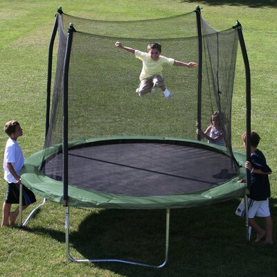 10' Round Trampoline with Safety Enclosure Product Photo