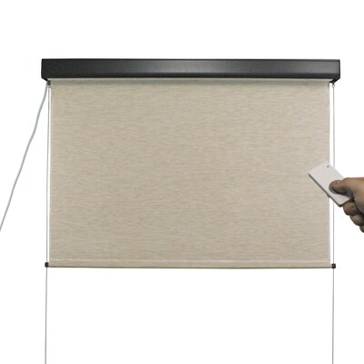 Elite Plus Motor Operated Cordless Exterior Solar Shade Product Photo