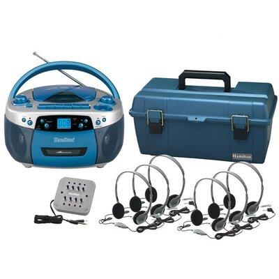 Hamilton Electronics CD / USB / MP3 Listening Center with HA2V Personal Headphones
