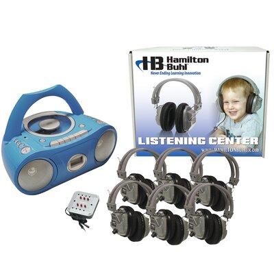 Buhl Basic Cassette / CD / AM FM Listening Center 6 Stations