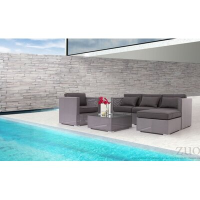 Sectional with Cushions by dCOR design