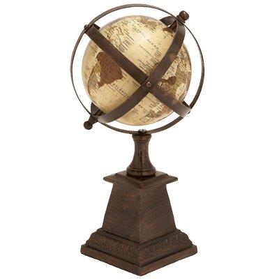 Woodland Imports Aluminum Globe Sculpture Amp Reviews Wayfair