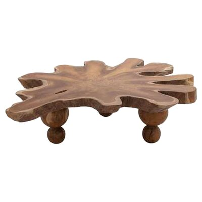 Abstract Ampyang Coffee Table by Woodland Imports
