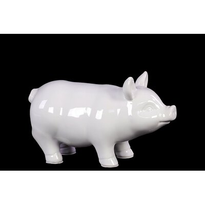 Woodland Imports Yangtze S Unique Pig Decor Figurine
