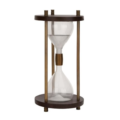 Woodland Imports Big Aluminum Sand Timer Amp Reviews Wayfair
