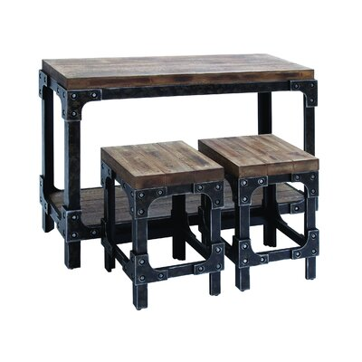 3 Piece Pub Table Set by Woodland Imports