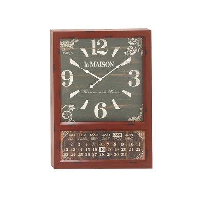 Metal Calendar Oversized 28