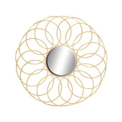 Exquisite & Elegant Metal Mirror by Woodland Imports