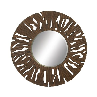 Amazing Carved Wall Mirror by Woodland Imports