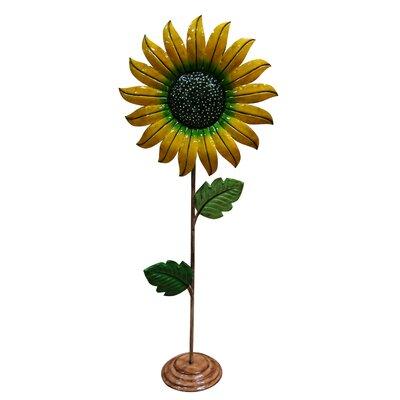 Medium Metal Sunflower Garden Decor by Woodland Imports