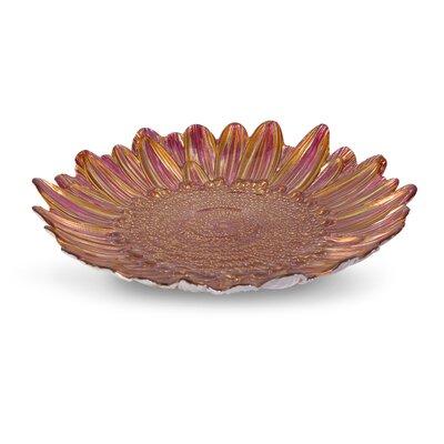 Daisy Shasta Plate by Woodland Imports