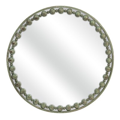 Blakely CKI Round Mirror by Woodland Imports