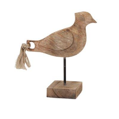 Amara Bird Figurine by Woodland Imports