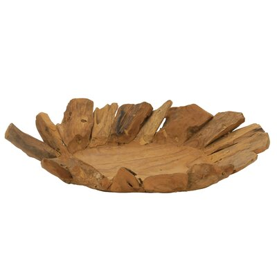 Leaf Plate by Woodland Imports