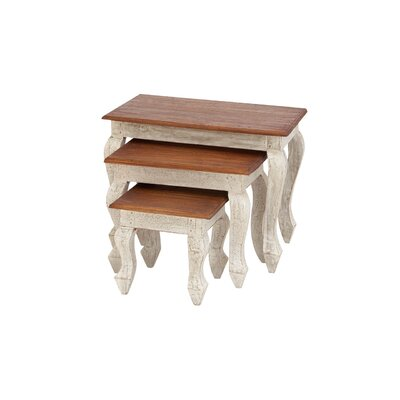 3 Piece Nesting Tables by Woodland Imports