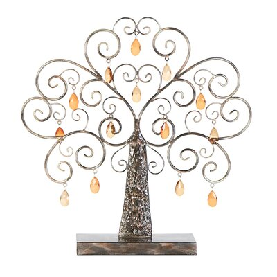 Metal Tree Sculpture by Woodland Imports