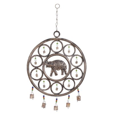 Woodland Imports Metal Wind Chime