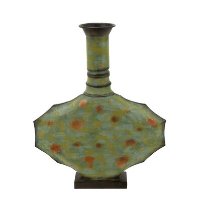 Metal Vase by Woodland Imports