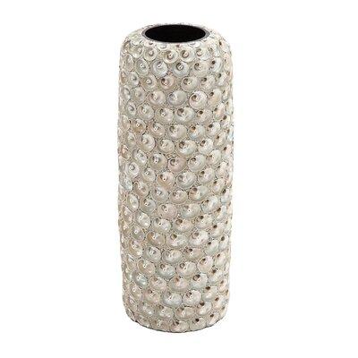 Ceramic Seashell Vase by Woodland Imports