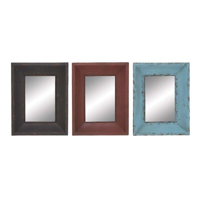 Metallic Wall Mirror by Woodland Imports