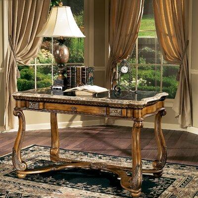 Butler Heritage Writing Desk with Fossil St1 Veneer Top