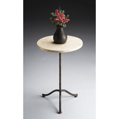 Metalworks Pedestal End Table by Butler