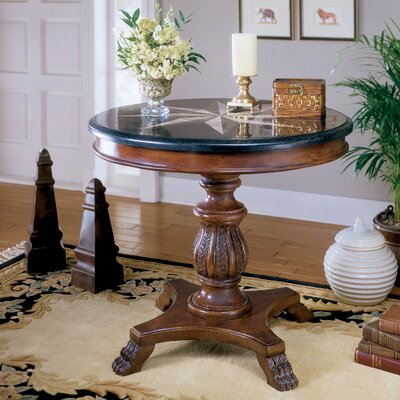 Heritage Stone Inlay End Table by Butler