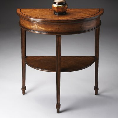 Heritage Demilune Console Table by Butler