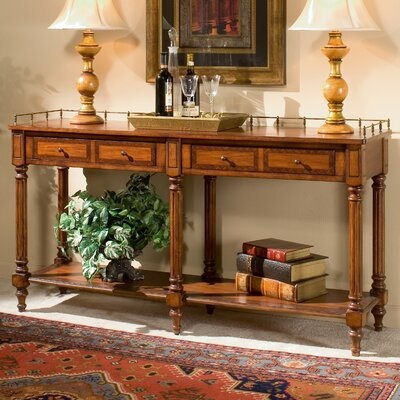 Plantation Cherry Console Table by Butler