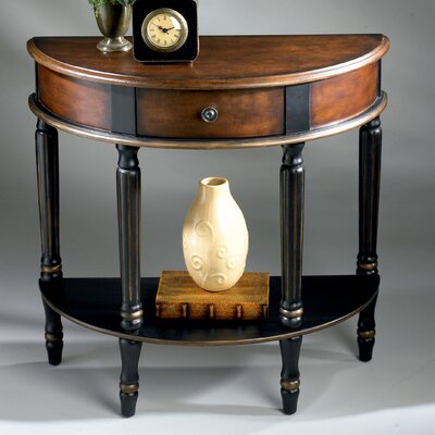 Artist's Originals Demilune Console Table by Butler